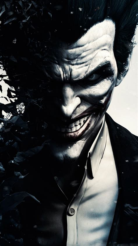 arkham joker hd wallpaper   mobile phone