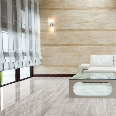 White Gloss Floor L by Falquon Flooring High Gloss White Oak With Silver