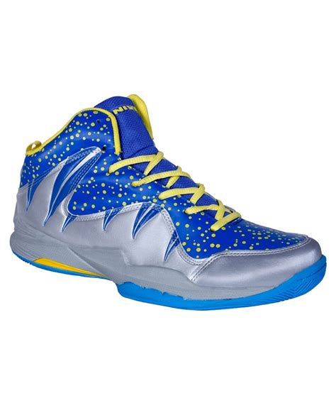 nivia sport shoes nivia warrior i blue basketball sports shoes buy