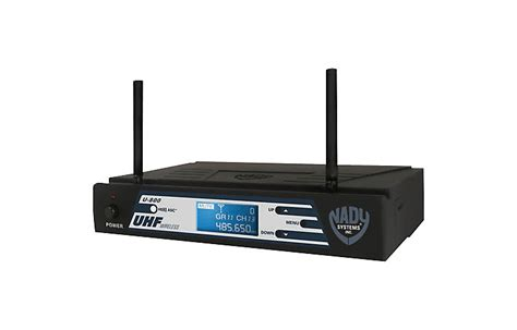 Waireless Microphone Uhf 800 nady introduces new 800 channel uhf wireless microphone