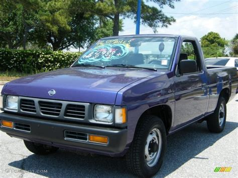 blue nissan truck 1996 royal blue metallic nissan hardbody truck regular cab