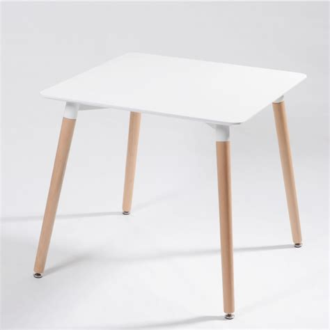 eames style dining table eames style dsw white square dining table