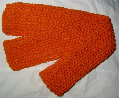 light worsted weight cotton knit with kt youth cotton seed stitch scarf