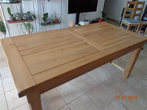 Table Salle A Manger Chene Massif 1609 by Table Salle Amanger Clasf