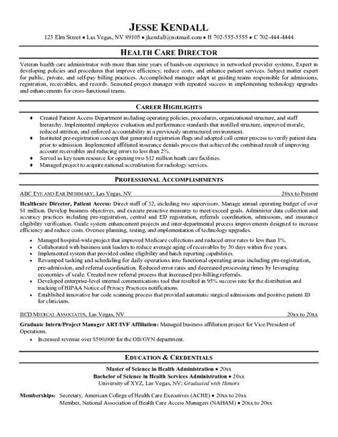 Healthcare Resumes Exles by Health Care Resume Objective Sle Http Jobresumesle 843 Health Care Resume