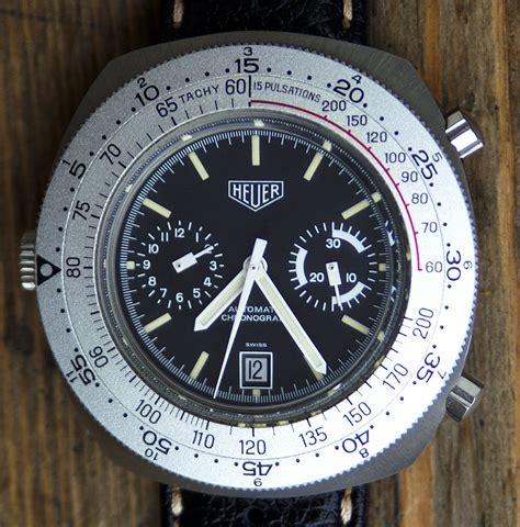 Heuer Calculator, some pics    The Dive Watch Connection