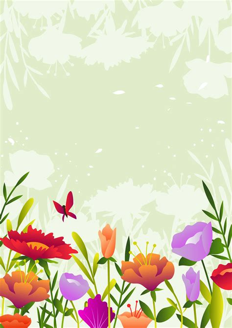beautiful flower background   vectors