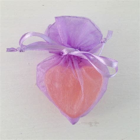 pattern for heart shaped lavender bags lavender heart shaped organza favor bag soap favor bag
