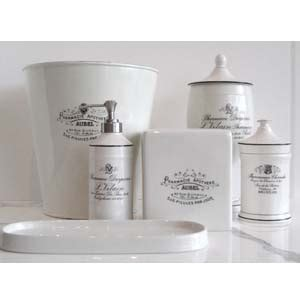 apothecary bathroom accessories apothecary bath accessories bathroom decor pinterest