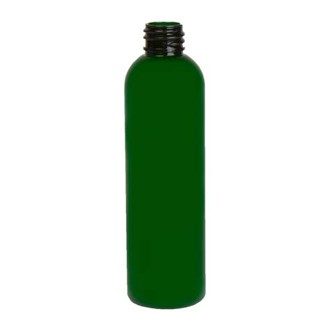 cosmopolitan bottle 4 oz green pet cosmo round bottle with 20 410 neck cap