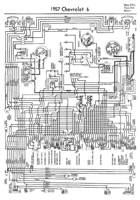 1957 chevrolet wiring diagram 1957 chevrolet wiring