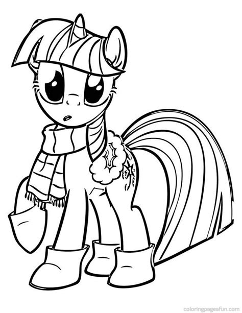 my little pony coloring pages twilight sparkle free