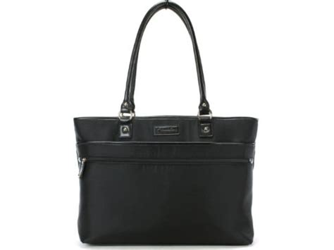 Bag A Bargain With Franklin Coveys Chelsea Business Tote Bag by Heritage Franklin Covey Top Zip Laptop Tote Bag Black
