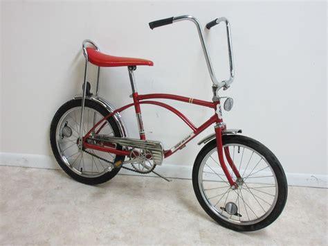 banana seat bike vintage rapido deluxe banana seat bicycle bike ebay