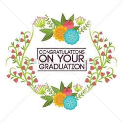 congratulations on your graduation vector image 1797280 stockunlimited