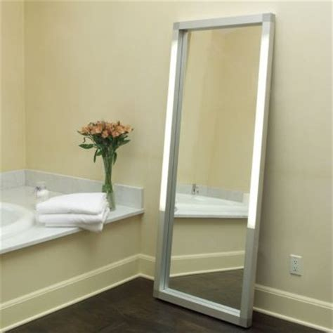 rezek lighted floor mirror by artemide floor mirrors