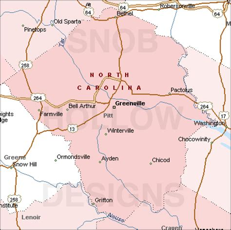 ayden nc map pitt county carolina color map