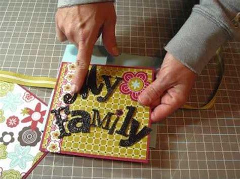 mini scrapbook tutorial youtube flip book mini scrapbook album tutorial youtube