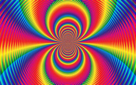 psychedelic colors abstract rainbow artistic circle colors colours bright