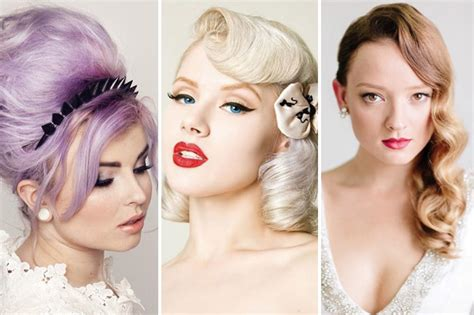 Vintage Wedding Hairstyle Images by 1950 Wedding Hairstyles Www Pixshark Images