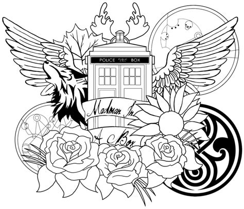 doctor who coloring book tardis doctor who coloring pages coloring pages