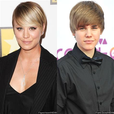 what movie did kaley cuoco cut her hair for kaley cuoco on her pixie haircut do i look like justin