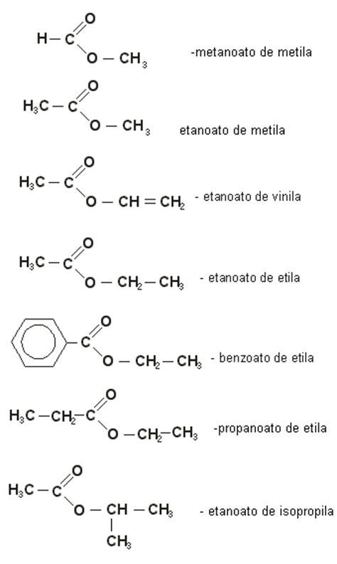 ester quimica nomenclatura dos 233 steres regras de nomenclatura dos