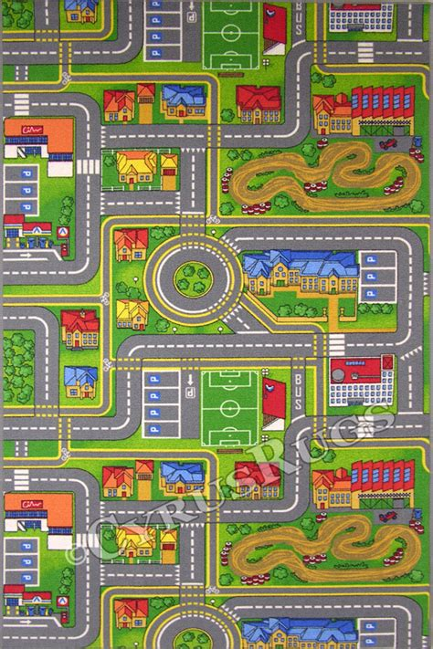 city rug for traffic play city map rugs cyrus