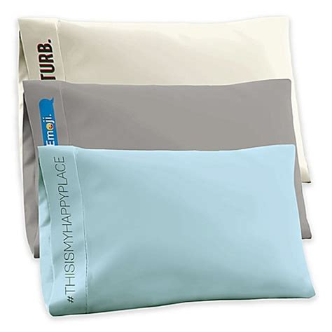 jersey knit pillowcases t shirt jersey knit standard pillowcase bed bath beyond