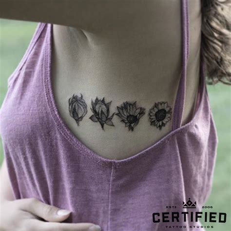 single flower tattoo designs lilac flower flowers ideas for review