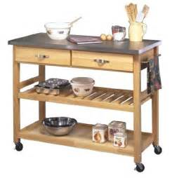 best rolling kitchen islands utility carts with stainless