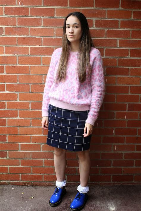 Pink Grid Casual Sweater 21423 adele topshop fluffy pink leopard sweater target navy