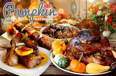 pumpkin catering service promo