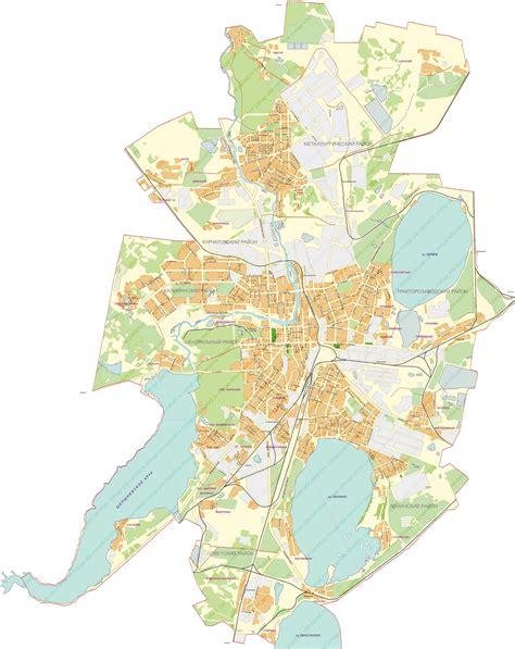 chelyabinsk map map of chelyabinsk