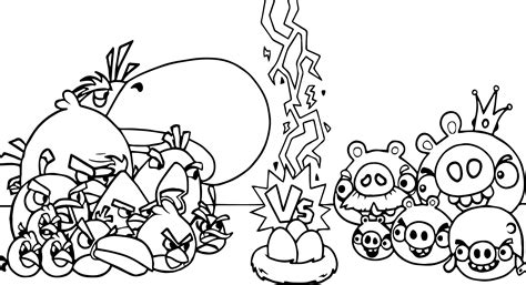 angry birds bad piggies coloring pages angry birds vs bad piggies coloring page wecoloringpage