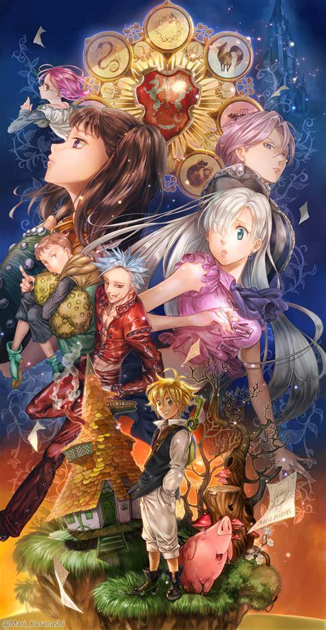 Anime 7 Deadly Sins Season 3 by Nanatsu No Taizai Suzuki Nakaba 1807041 Zerochan
