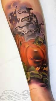 25 evil pumpkin tattoos scary enough
