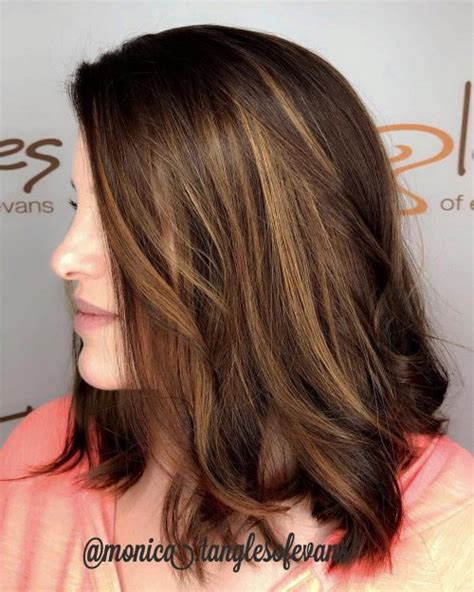 tri color hair highlights hairstyles hairstyles 41 brown hair with highlights trending for 2019