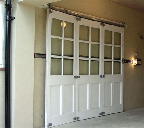 types  sliding garage doors  choose home interiors