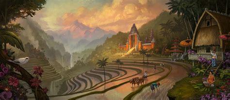 balinese artists  paintings balinese painting