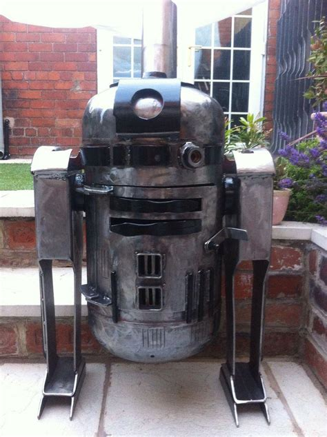 backyard wood stove r2d2 star wars outdoor heater stove trente