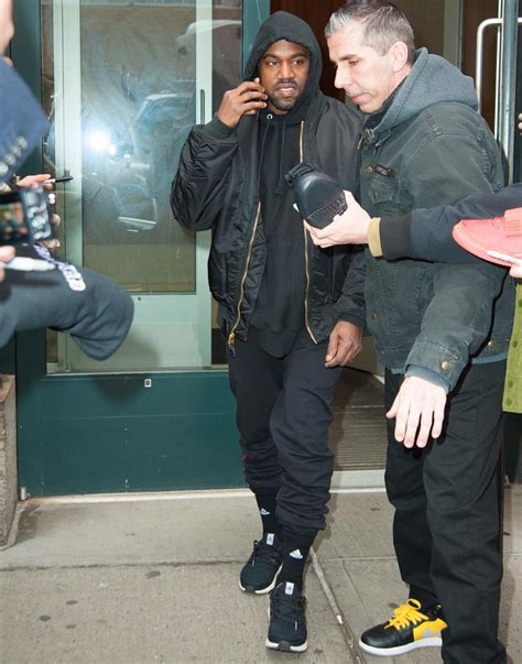 Jaket Bb Parka Vans By Dl Store kanye west wears yeezy season 3 jacket gucci sweatpants