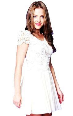 Lace Hook Flower Dress 23 best always fashion how to wear white lace dress