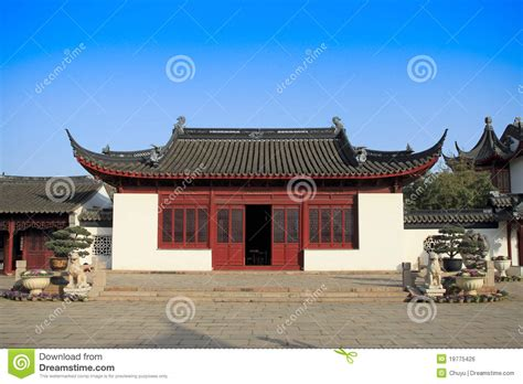 chinese traditional house royalty  stock image image