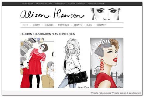 fashion design portfolio websites fashion website design portfolio