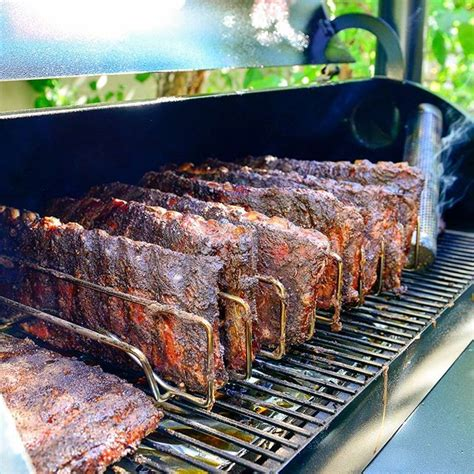 How Do You Smoke A Rack Of Ribs by Thick And Deliciously Smoked Traeger Bbq Ribs You Won T