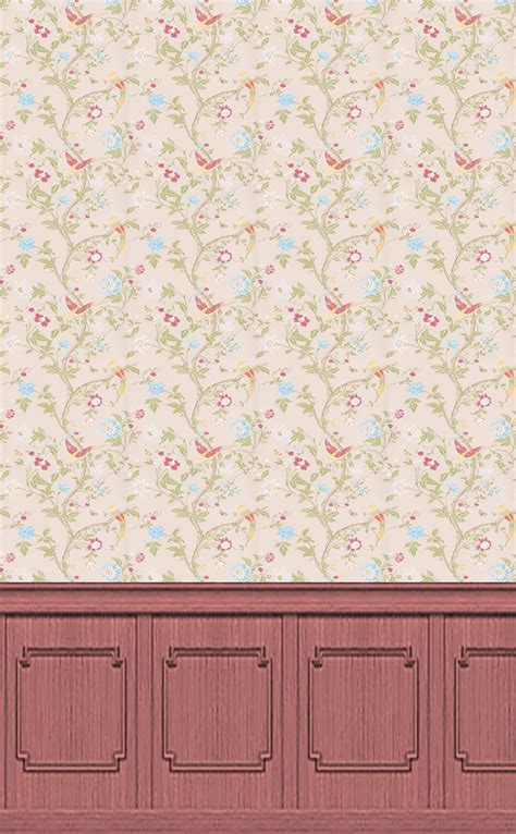 dolls house wallpaper collections