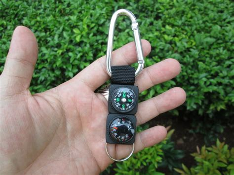 Termometer Outdoor cnc phoneshop jual carabiner compass termometer