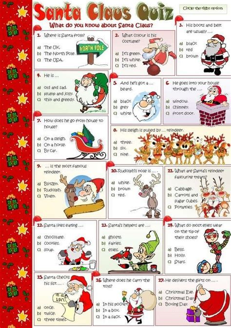 family friendly christmas trivia questions  answers