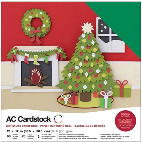 american crafts 12x12 quot cardstock pack 60pg
